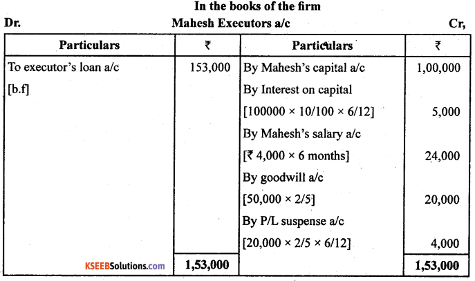 2nd PUC Accountancy Previous Year Question Paper June 2019 - 3