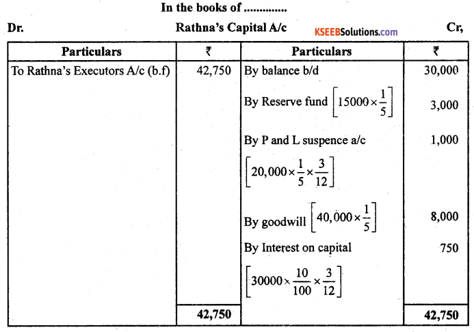 2nd PUC Accountancy Previous Year Question Paper March 2019 - 4