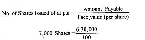 2nd PUC Accountancy Question Bank Chapter 1 Accounting for Share Capital - 22