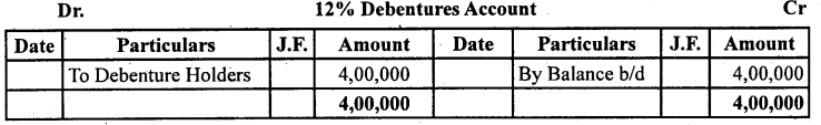 2nd PUC Accountancy Question Bank Chapter 2 Issue and Redemption of Debentures - 57