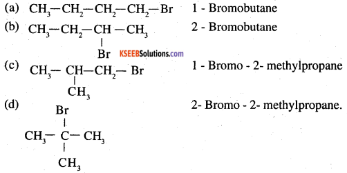 2nd PUC Chemistry Question Bank Chapter 10 Haloalkanes and Haloarenes - 13