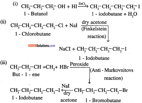 2nd PUC Chemistry Question Bank Chapter 10 Haloalkanes and Haloarenes - 14