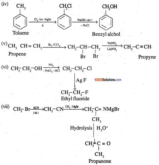 2nd PUC Chemistry Question Bank Chapter 10 Haloalkanes and Haloarenes - 25