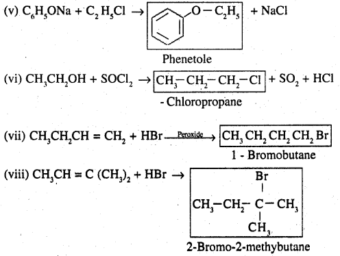 2nd PUC Chemistry Question Bank Chapter 10 Haloalkanes and Haloarenes - 30