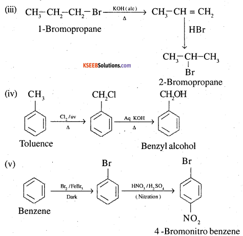 2nd PUC Chemistry Question Bank Chapter 10 Haloalkanes and Haloarenes - 40