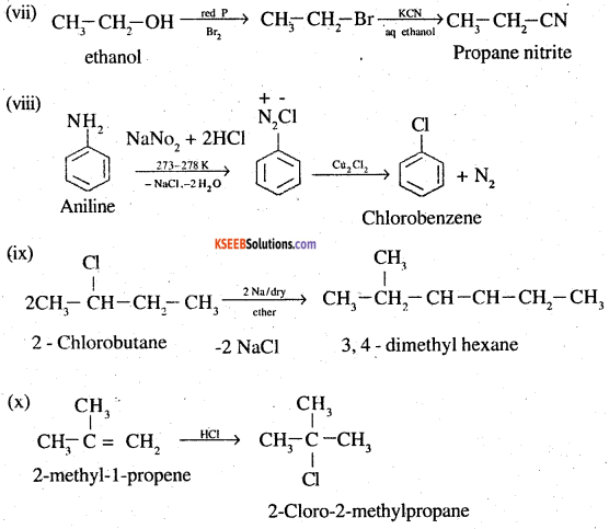 2nd PUC Chemistry Question Bank Chapter 10 Haloalkanes and Haloarenes - 42