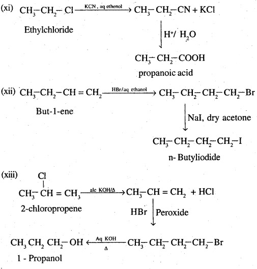 2nd PUC Chemistry Question Bank Chapter 10 Haloalkanes and Haloarenes - 43