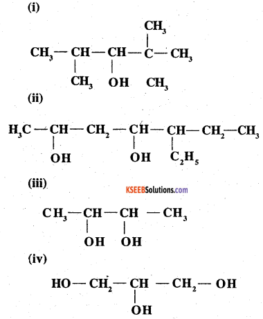 2nd PUC Chemistry Question Bank Chapter 11 Alcohols, Phenols and Ethers - 1