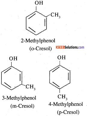 2nd PUC Chemistry Question Bank Chapter 11 Alcohols, Phenols and Ethers - 12