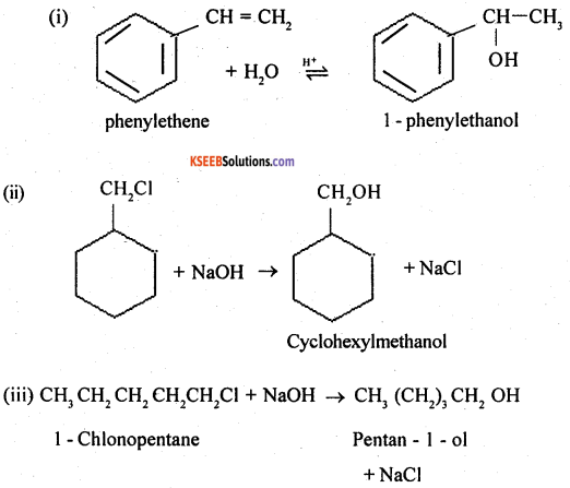 2nd PUC Chemistry Question Bank Chapter 11 Alcohols, Phenols and Ethers - 21