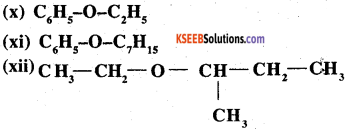 2nd PUC Chemistry Question Bank Chapter 11 Alcohols, Phenols and Ethers - 3