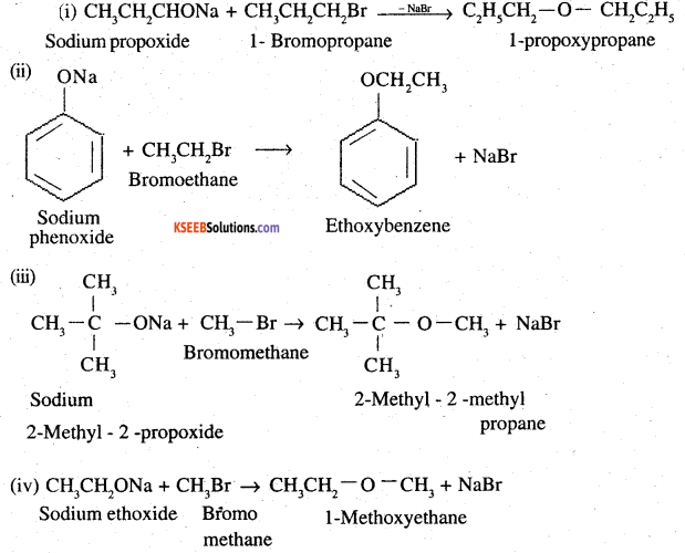 2nd PUC Chemistry Question Bank Chapter 11 Alcohols, Phenols and Ethers - 45