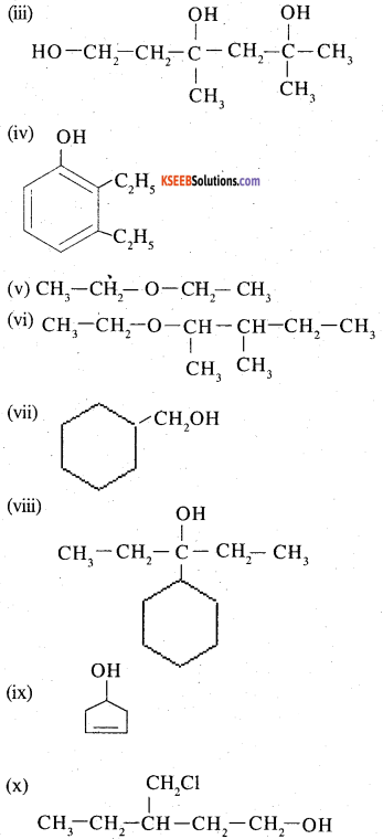 2nd PUC Chemistry Question Bank Chapter 11 Alcohols, Phenols and Ethers - 5