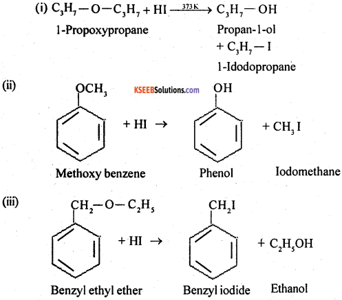 2nd PUC Chemistry Question Bank Chapter 11 Alcohols, Phenols and Ethers - 52