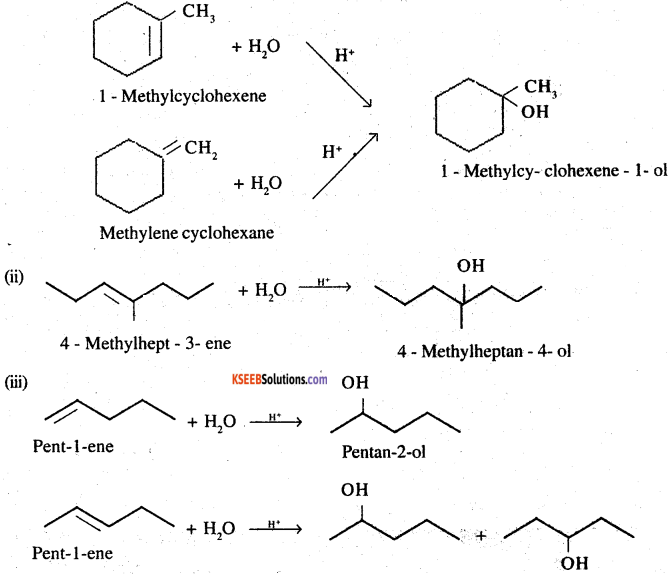 2nd PUC Chemistry Question Bank Chapter 11 Alcohols, Phenols and Ethers - 61