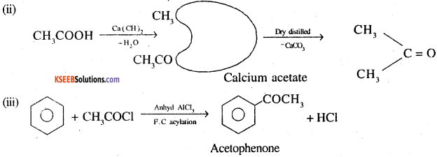 2nd PUC Chemistry Question Bank Chapter 12 Aldehydes, Ketones and Carboxylic Acids - 102