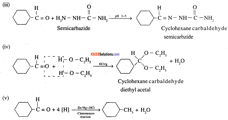 2nd PUC Chemistry Question Bank Chapter 12 Aldehydes, Ketones and Carboxylic Acids - 21