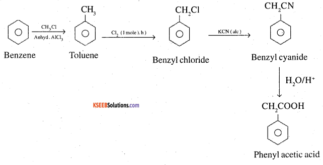 2nd PUC Chemistry Question Bank Chapter 12 Aldehydes, Ketones and Carboxylic Acids - 48