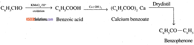 2nd PUC Chemistry Question Bank Chapter 12 Aldehydes, Ketones and Carboxylic Acids - 54