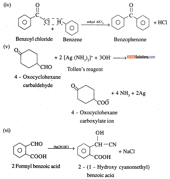 2nd PUC Chemistry Question Bank Chapter 12 Aldehydes, Ketones and Carboxylic Acids - 65