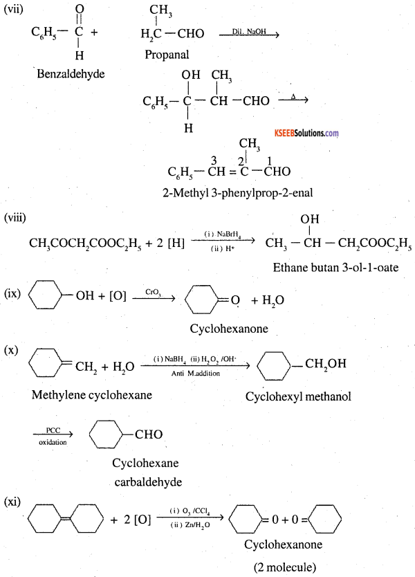 2nd PUC Chemistry Question Bank Chapter 12 Aldehydes, Ketones and Carboxylic Acids - 66