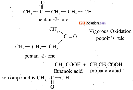2nd PUC Chemistry Question Bank Chapter 12 Aldehydes, Ketones and Carboxylic Acids - 74