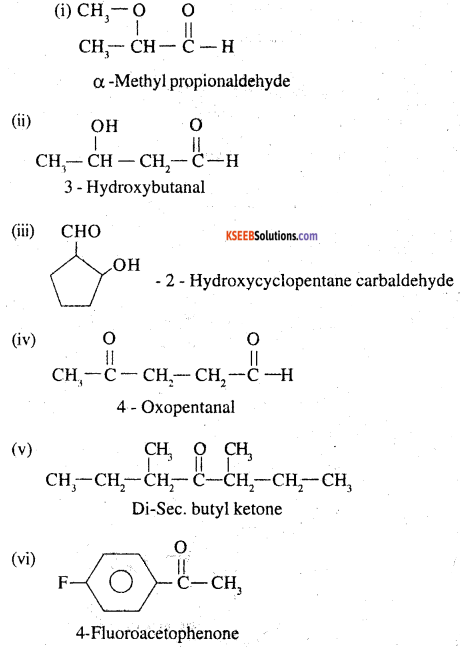 2nd PUC Chemistry Question Bank Chapter 12 Aldehydes, Ketones and Carboxylic Acids - 77