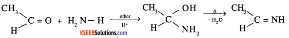 2nd PUC Chemistry Question Bank Chapter 12 Aldehydes, Ketones and Carboxylic Acids - 8