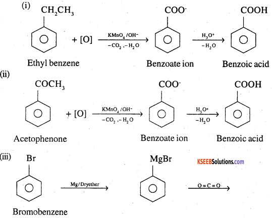 2nd PUC Chemistry Question Bank Chapter 12 Aldehydes, Ketones and Carboxylic Acids - 87