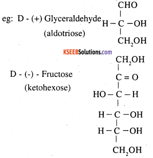 2nd PUC Chemistry Question Bank Chapter 14 Biomolecules - 1