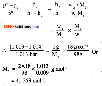 2nd PUC Chemistry Question Bank Chapter 2 Solutions - 12