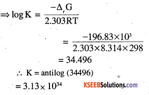 2nd PUC Chemistry Question Bank Chapter 3 Electrochemistry - 2
