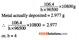 2nd PUC Chemistry Question Bank Chapter 3 Electrochemistry - 20