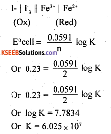 2nd PUC Chemistry Question Bank Chapter 3 Electrochemistry - 22