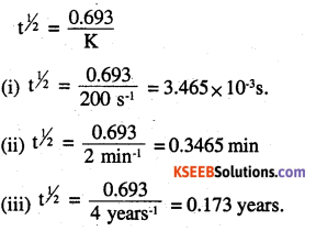 2nd PUC Chemistry Question Bank Chapter 4 Chemical Kinetics - 12
