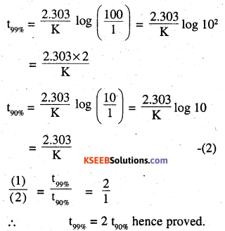 2nd PUC Chemistry Question Bank Chapter 4 Chemical Kinetics - 19