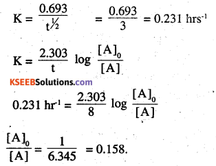 2nd PUC Chemistry Question Bank Chapter 4 Chemical Kinetics - 23