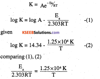 2nd PUC Chemistry Question Bank Chapter 4 Chemical Kinetics - 25