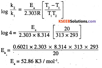2nd PUC Chemistry Question Bank Chapter 4 Chemical Kinetics - 28