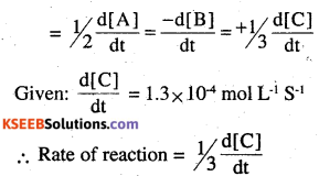 2nd PUC Chemistry Question Bank Chapter 4 Chemical Kinetics - 32