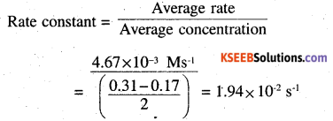 2nd PUC Chemistry Question Bank Chapter 4 Chemical Kinetics - 6