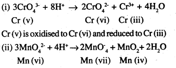 2nd PUC Chemistry Question Bank Chapter 8 The d-and f-Block Elements - 4