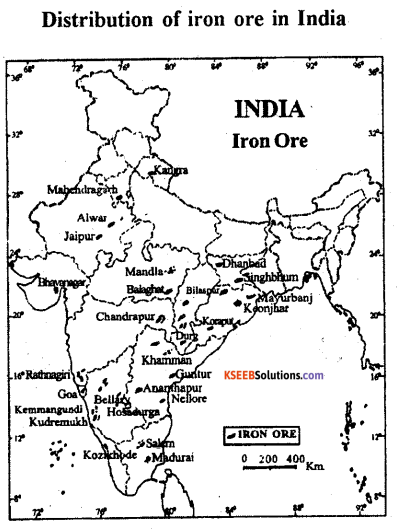2nd PUC Geography Previous Year Question Paper June 2017 - 3