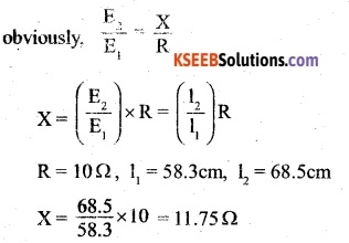 2nd PUC Physics Question Bank Chapter 3 Current Electricity 33