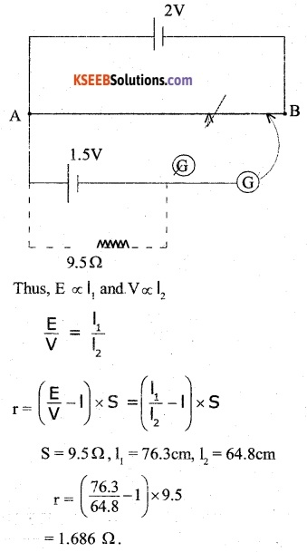 2nd PUC Physics Question Bank Chapter 3 Current Electricity 35