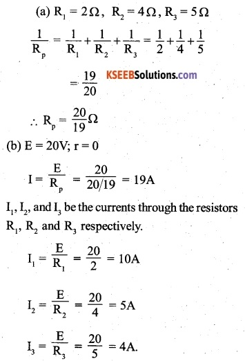 2nd PUC Physics Question Bank Chapter 3 Current Electricity 4