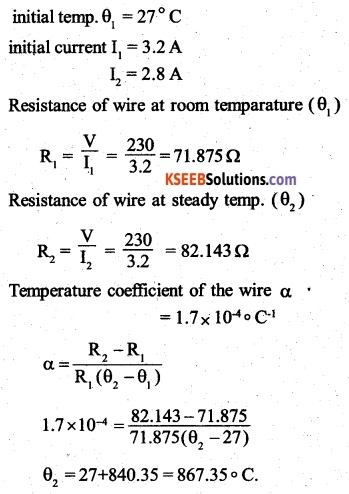 2nd PUC Physics Question Bank Chapter 3 Current Electricity 8