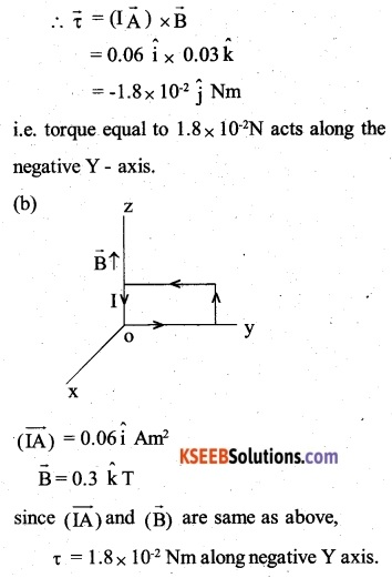 2nd PUC Physics Question Bank Chapter 4 Moving Charges and Magnetism 39