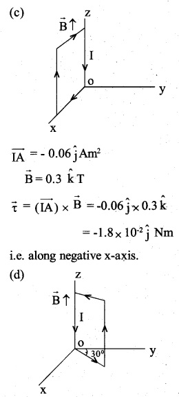 2nd PUC Physics Question Bank Chapter 4 Moving Charges and Magnetism 40