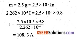 2nd PUC Physics Question Bank Chapter 4 Moving Charges and Magnetism 45